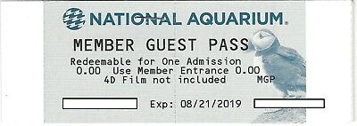 National Aquarium Baltimore Ticket / Pass