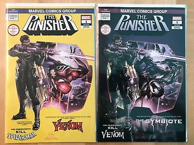 Punisher #1 Clayton Crain Variant Covers Marvel Ltd To Only 1000 Sets