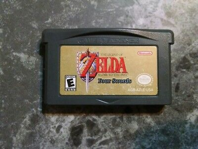 Legend of Zelda: A Link to the Past (Nintendo Game Boy Advance) GBA Four Swords