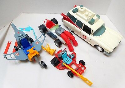 The Real Ghostbusters Ecto-1 Ecto-500 Ecto-2 Ecto-3 Vehicle Parts Lot
