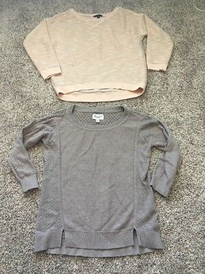 American Eagle Womens Size Medium Tops sweaters Lot Of 2