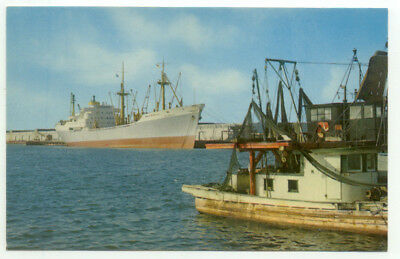 Gulfport MS State Docks Postcard  - Mississippi