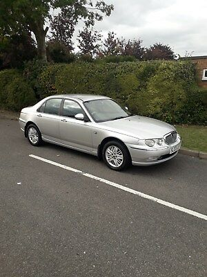 2003 03 rover 75 club se only 82k miles silver parking sensors  hpi clear