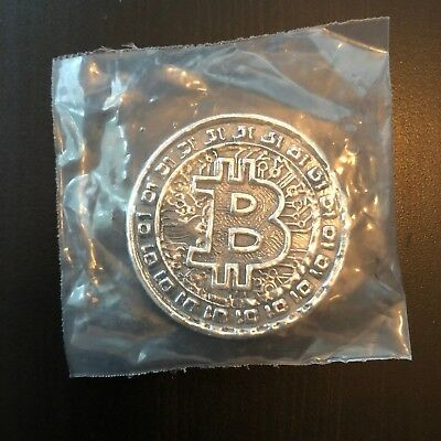 YPS 3 oz Bitcoin Rare Version 2! Yeager's Poured Silver