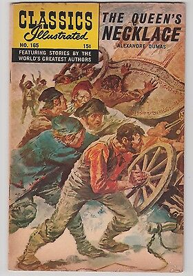 Classics Illustrated #165 1st Print Queen's Necklace 1962 HRN 164 Dumas