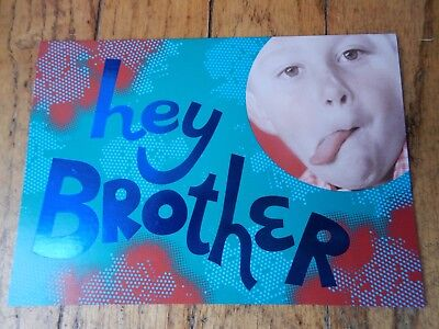 BIRTHDAY CARD FOR BROTHER (Made in USA)