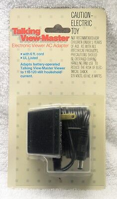 "Talking View-Master Electronic Viewer ""AC ADAPTER"" Just the Adapter NOS"