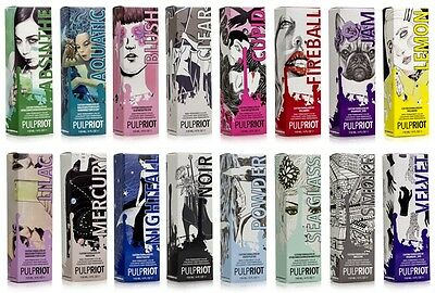 Pulp Riot Semi Permanent Professional Hair Color,toners,new Raven Collection