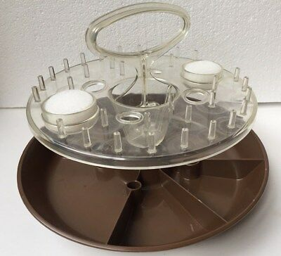VTG  Rubbermaid Lazy Susan for Sewing Notions Scissors Thread Pins