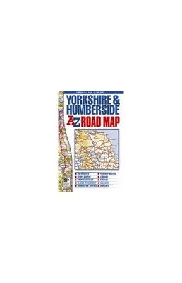 Yorkshire & Humberside Road Map (A-... by Geographers A-Z Map  Sheet map, folded