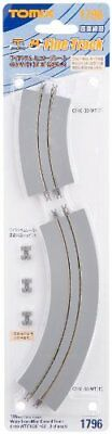 Tomytec TOMIX N gauge 1795 wide tram mini carve rail C103 - WT From japan