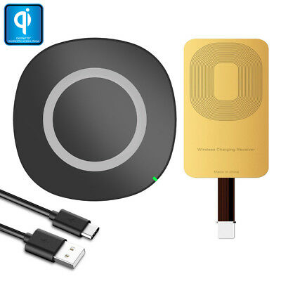 QI WIRELESS CHARGER Adapter Charging Receiver For Samsung LG
