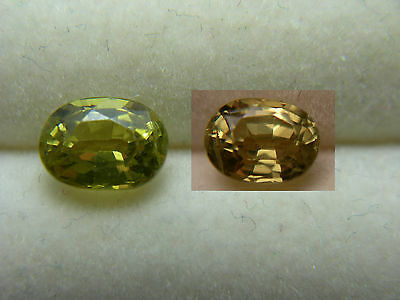 rare natural Alexandrite gem COLOR CHANGE untreated Tunduru Tanzania gemstone