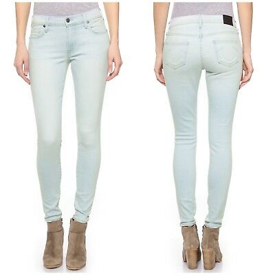 NEW $198 True Religion Halle Skinny Size 25 Skinny Nook Dr Light Womens Jeans