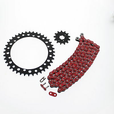 104L Red Non O Ring Chain & Sprocket Black 14/41 Yamaha YFZ350 Banshee 1989-2006