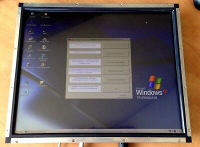 """ELO TouchSystems 17"""" Touch Screen Monitor ET1739L OPEN FRAME USB VGA"""