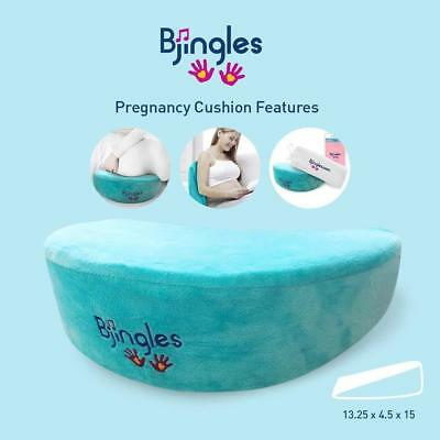 Bjingles Pregnancy Wedge Pillow Memory Foam Maternity Pillows Support Body Belly