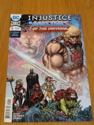 Injustice Vs Masters Of Universe #1 Dc Comics September 2018