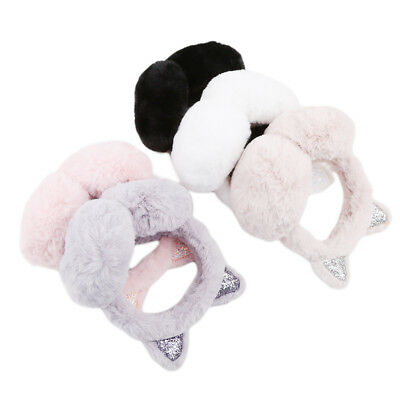 Muffs Winter Warmer Earmuffs Cute Cartoon Cat Ear Shape Folding Earmuffs Ear TL