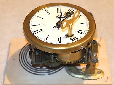 JUNGHANS ANTIQUE GERMAN WALL CLOCK Alte Deutsche Wanduhr : will send anywhere
