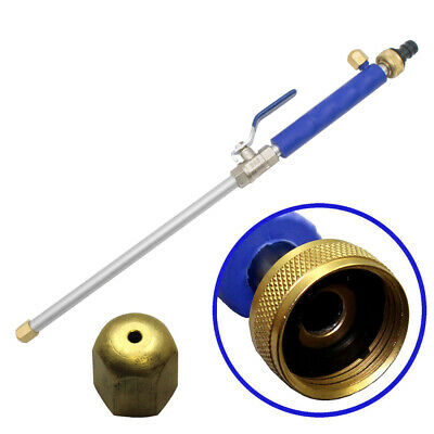 High Pressure Power Washer Spray Nozzle New! Water Hose Wand Attachment