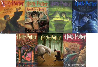 Harry Potter Complete Series by J.K. Rowling #1-7 (E-B00K&AUDI0B00K||E-MAILED)16