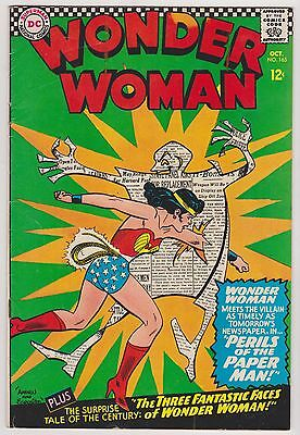 Wonder Woman #165, Fine - Very Fine Condition'