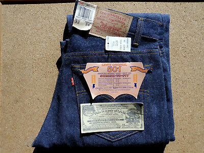 Levi's 501 - shrink to fit - 1987 - Design 552 - Vintage