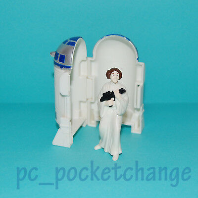 Star Wars Taco Bell 1996 Kids Meal Toy R2-D2 with Princess Leia inside