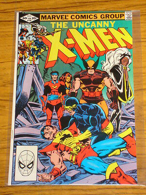 X-Men Uncanny #155 Marvel Comics March 1982
