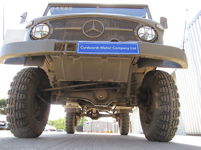 1962 Unimog 404S Mercedes-Benz Ex- Swiss Army 4x4 Troop Carrier MOT & Tax Exempt