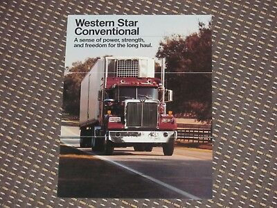 1980´s ? Western Star Conventional Truck Brochure - nr MINT