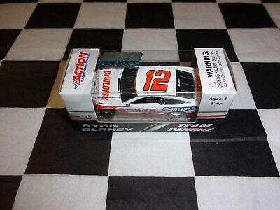 Ryan Blaney #12 Carlisle Ford 2018 Fusion NASCAR Action 1:64 scale car NIP