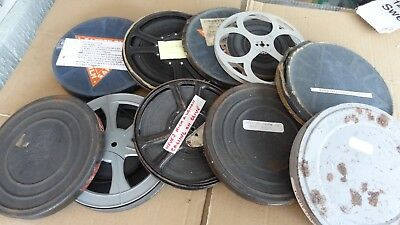 OLD 9.5 MM FILMS 8 FILMS 9.5 boxing match JURICH VS  BENNY  LYNCH  on one reel