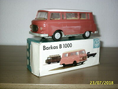 "altes DDR Model "" Barkas B 1000 M 1:25 "" in Original Karton, Neuwertig"