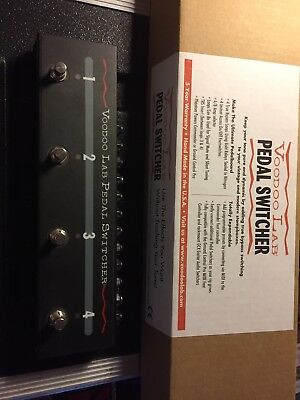Voodoo lab Pedal Switcher True Bypass Looper