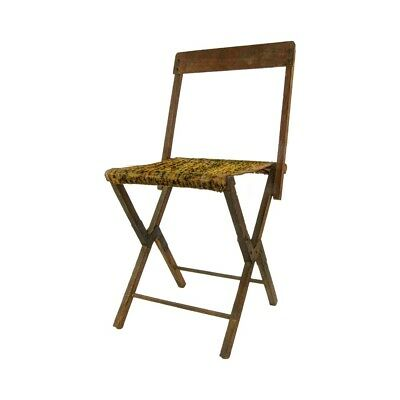 Antique Civil War Folding Camp Chair 1861-1865