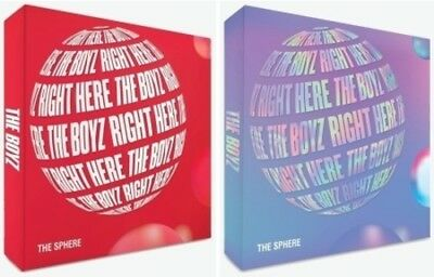 The Boyz - Sphere (Random Cover) [New CD] With Booklet, Postcard, Photos, Sticke