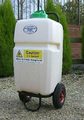window cleaning water fed pole crop garden sprayer spraying 35 litre trolley.