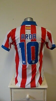 Replica Atletico Madrid Home Football Shirt Jersey 2014-2015 ARDA 10 Small
