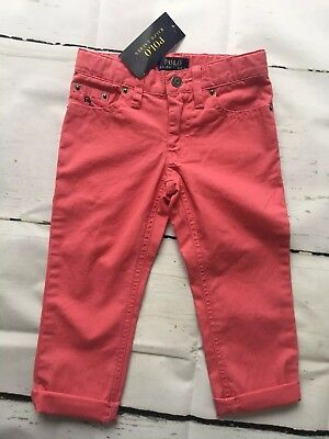 Boys Polo Ralph Lauren Trousers Size 2 Years Bnwt