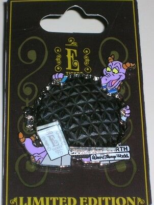 FIGMENT E-Ticket Spaceship Earth Hinged Disney Pin LE