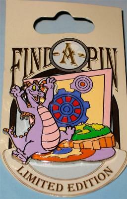 Find-A-Pin Series Figment Journey into Imagination Disney Pin WDW LE 1000 New