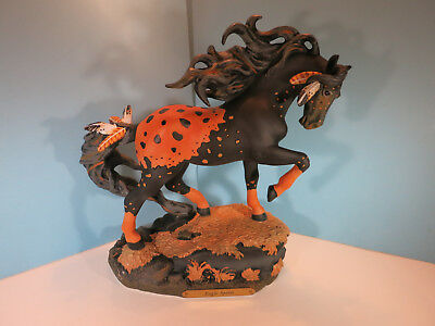 Trail Of Painted Ponies-Eagle Spirit Figurine First Editiion-New In Box