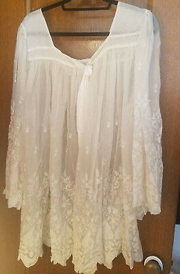 Lace Surplice Vintage, Antique, Traditional, Liturgy, Vestment, Mass, Church