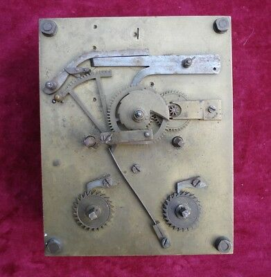 Smaller Size Striking Spring Driven Fusee Bracket Table Clock Movement Tic-Tac