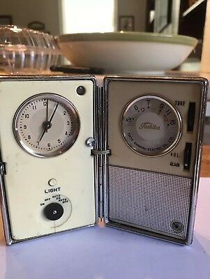 Unique Vintage Toshiba Portable Clock Transistor Radio...Never Saw Another One!
