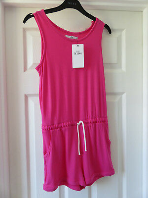 Marks and Spencer Girls Pink Playsuit/Jumsuit  Age 10-11 Years BNWT