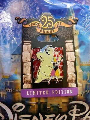 Disney Nightmare Before Christmas 25 Years Of Fright Oogie Boogie Sally LE Pin