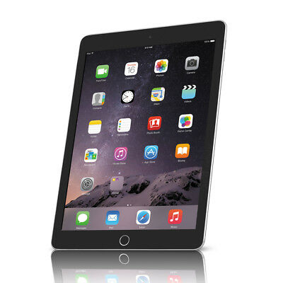 Apple iPad Air 2 A1566 Wi-Fi Space Gray  - 64GB, 9.7""